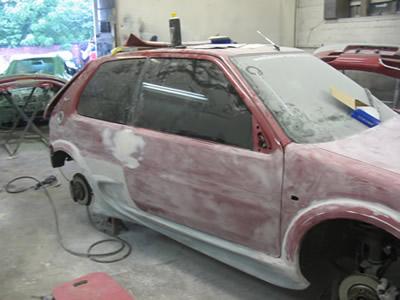 Косметический ремонт кузова автомобиля