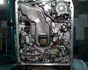 замена масла в коробке автомат nissan presage