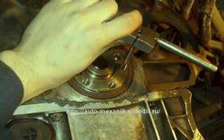 chevrolet lacetti теч масла из двигателя